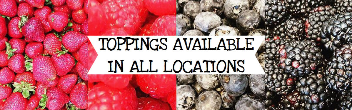 Toppings Available In All Locations